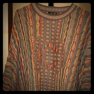 Beautiful Previously loved Men's 2X Coogi Sweater